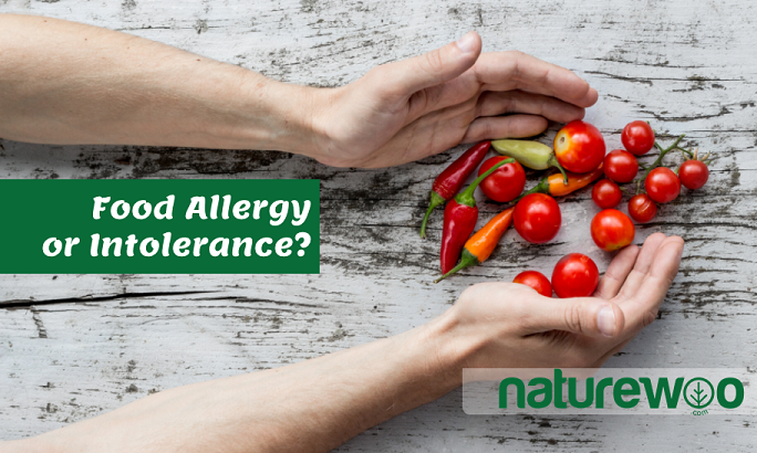 Food intollerance or food allergy